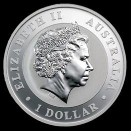 Bullion List Browse 1oz Silver Kookaburra Color Coin 2012