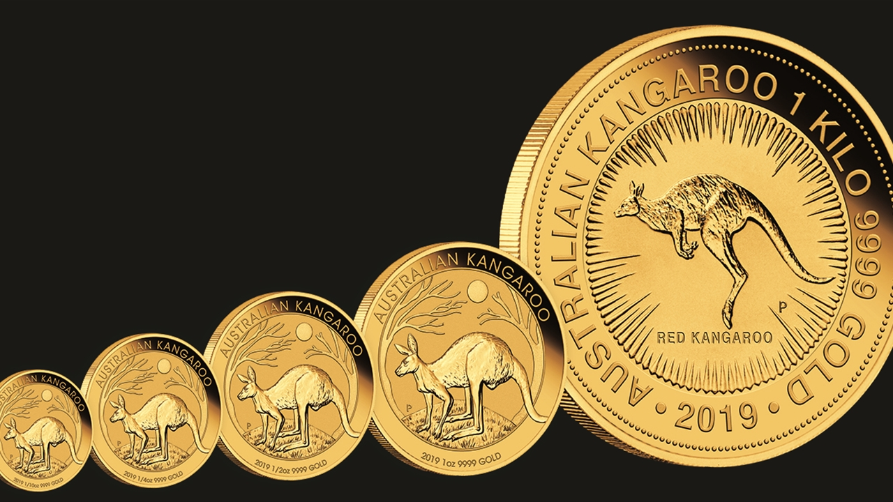 Bullion List Gold Perth Mint 1oz Gold Kangaroo 2019