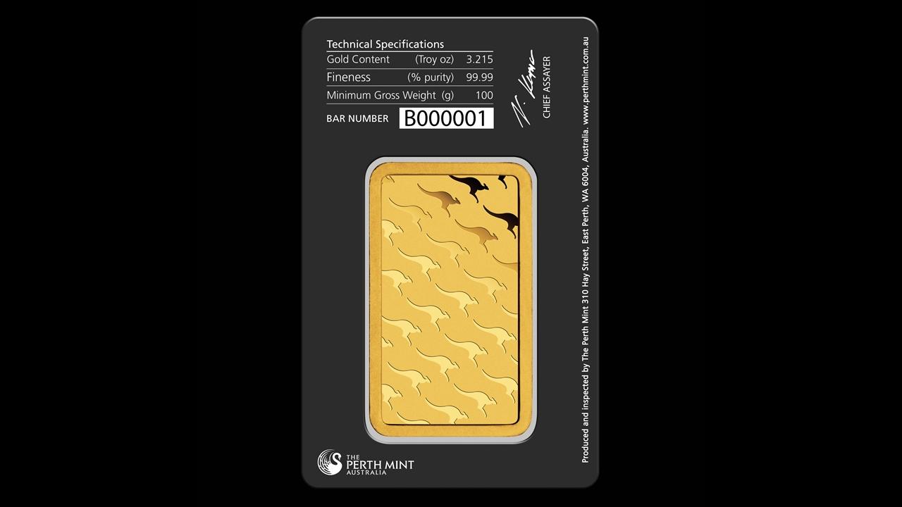 Bullion List Gold Perth Mint 100g Perth Mint Gold