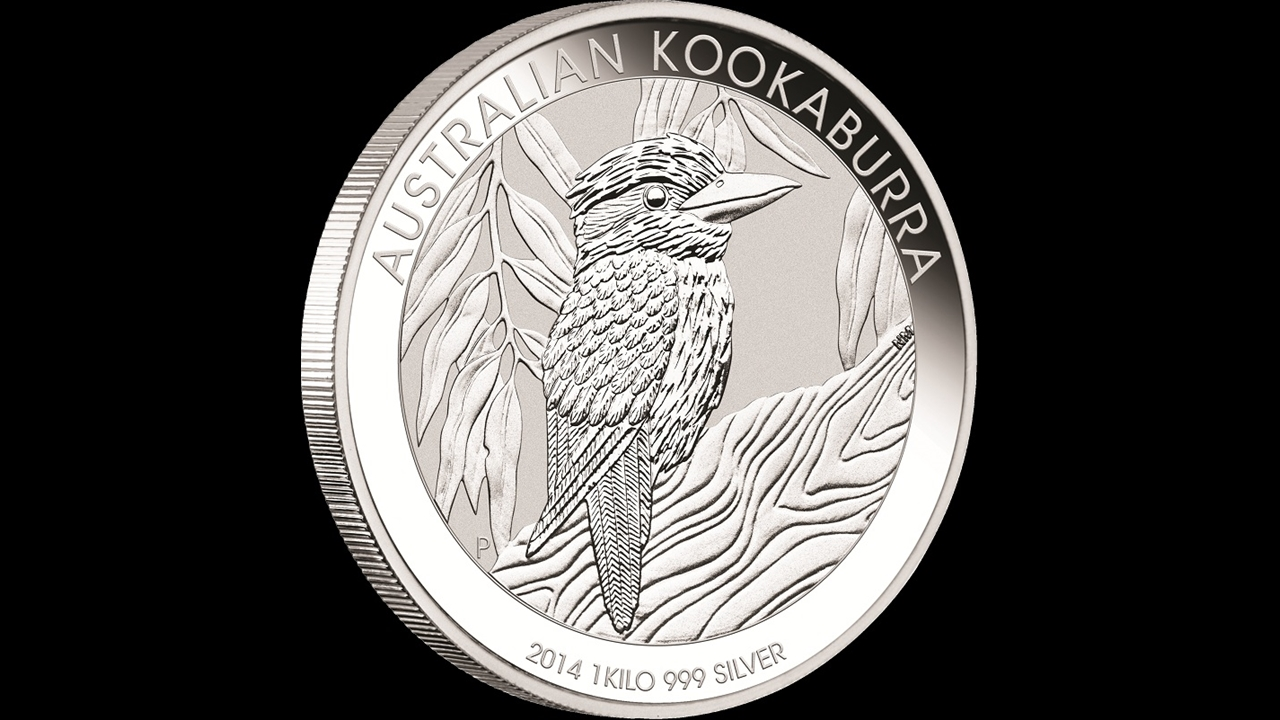 Bullion List Silver Perth Mint 1kg Silver Kookaburra