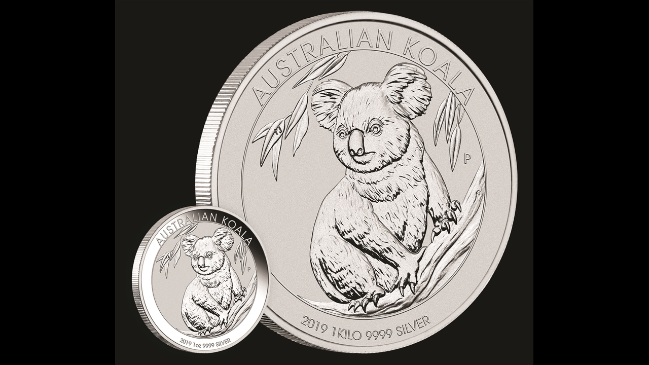 Bullion List Silver 1oz Silver Koala 2019