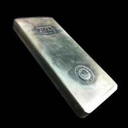 Perth Mint Silver Bar, extruded