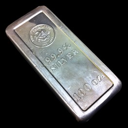 Perth Mint Silver Bar, struck