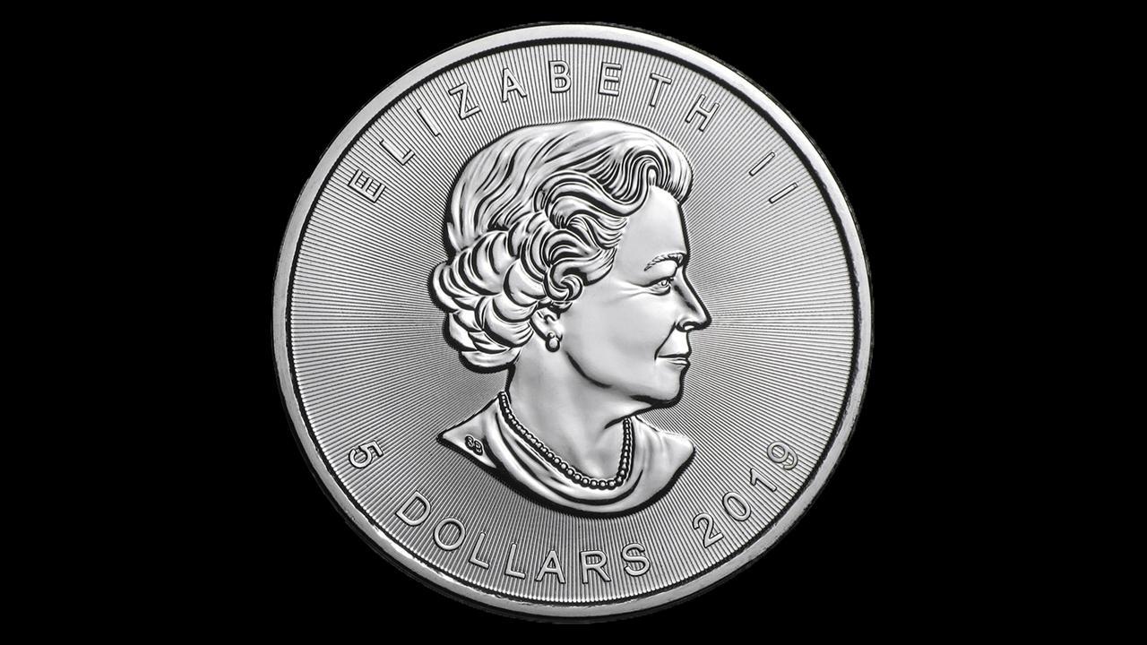 Bullion List Silver 1oz Silver Canadian Maple Leaf 2019