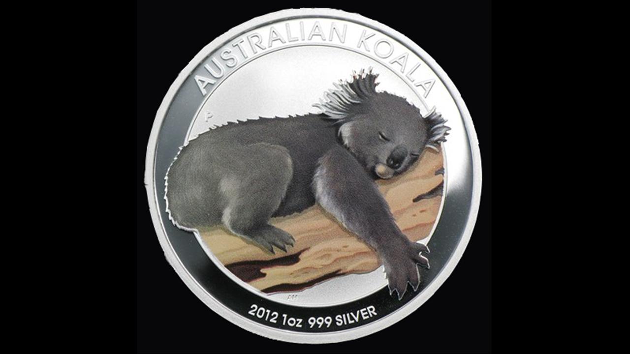 Bullion List Silver 1oz Silver Koala Colored Coin 2012