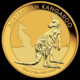 1/10 oz Gold Kangaroo 2016