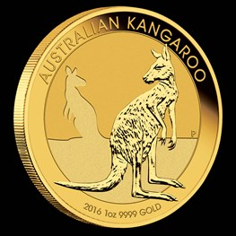 1oz Gold Kangaroo 2016