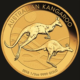 1/2oz Gold Kangaroo 2018