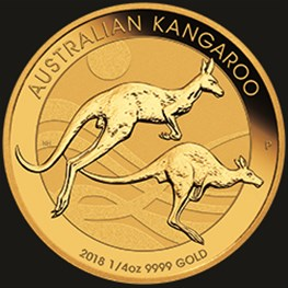 1/4oz Gold Kangaroo 2018