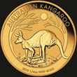 1/4oz Gold Kangaroo 2019