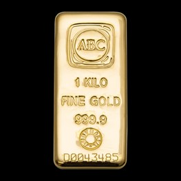 1kg ABC Gold Cast Bar