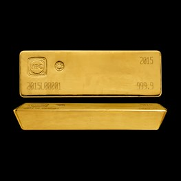 400oz ABC Gold Cast Bar