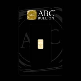 1g ABC Bullion Gold Minted Tablet Range