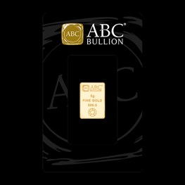 5g ABC Bullion Gold Minted Tablet Range
