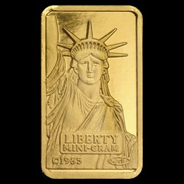 2g Credit Suisse Statue of Liberty (in Assay)