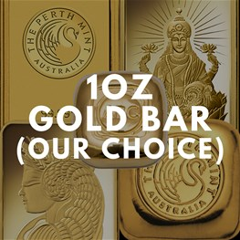 1oz assorted Gold Bullion (Our Choice)