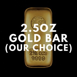 2.5oz Gold Bar (Our Choice)