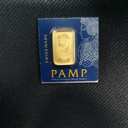 1g PAMP Gold 'Fortuna' MultiGram bar free Capsule