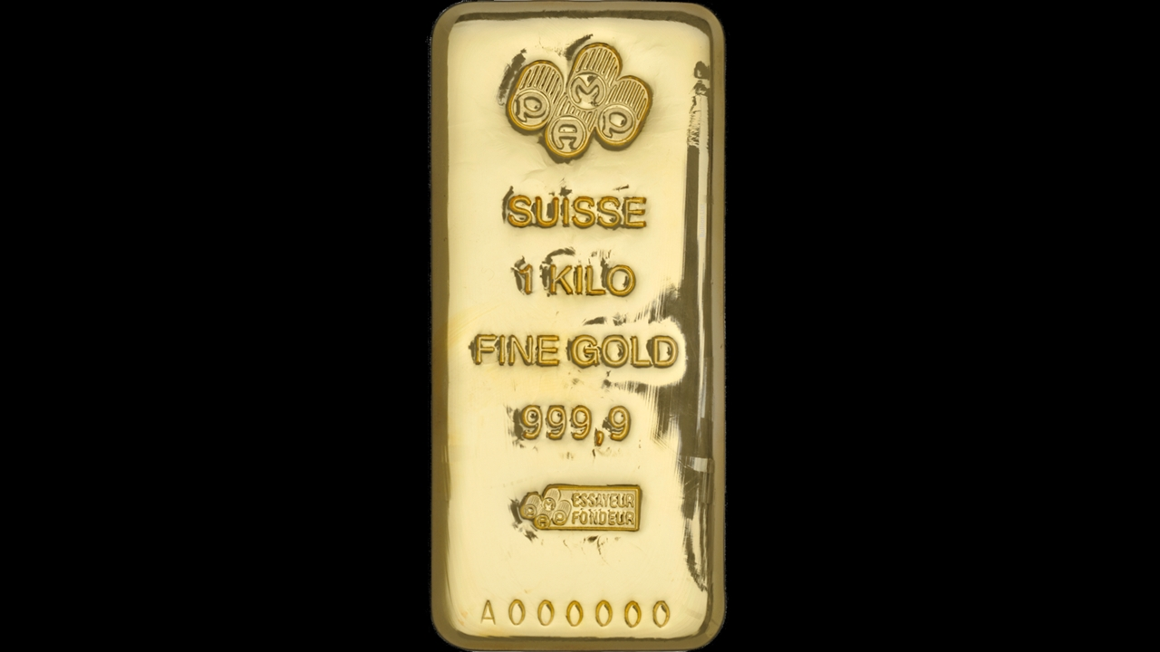 Bullion List Gold Pamp 1kg Pamp Gold Bar Cast