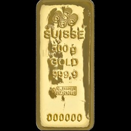 500g PAMP Gold Bar 'Cast'
