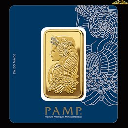 100g PAMP Gold Minted 'Fortuna'