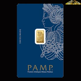 1g PAMP Gold Minted 'Fortuna'