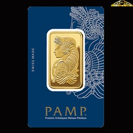 1oz PAMP Gold Minted 'Fortuna'