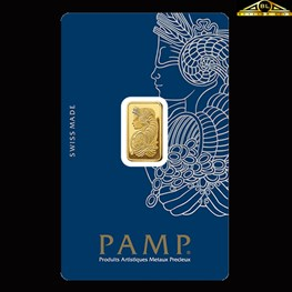 2.5g PAMP Gold Minted 'Fortuna'