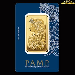 50g PAMP Gold Minted 'Fortuna'