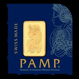 1g PAMP Gold 'Fortuna' MultiGram