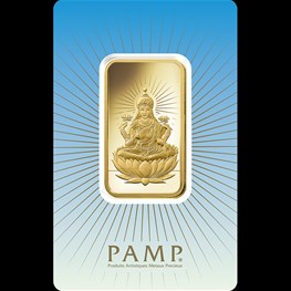 1oz PAMP Gold Minted 'Lakshmi'