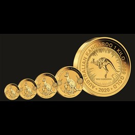 1/10oz PM Gold Kangaroo Coin 2020 Stock