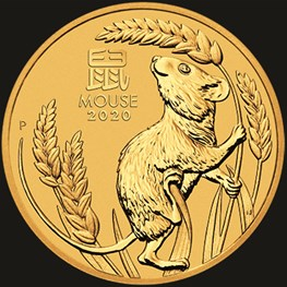 10oz PM Gold Lunar Mouse Coin 2020 inquiry