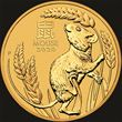 1/4oz PM Gold Lunar Mouse Coin 2020