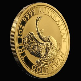 1oz Perth Mint Gold Swan Coin 2020