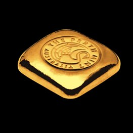 1oz Perth Mint Gold Bar 'Cast'