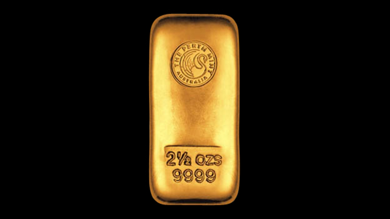 Bullion List Browse Gold Bars 2 5oz Perth Mint Gold
