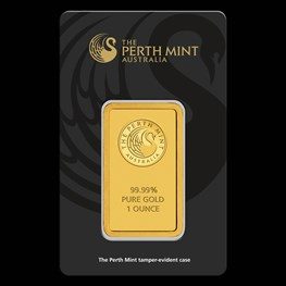 1oz PM Gold Bar (Black Swan Certicard)