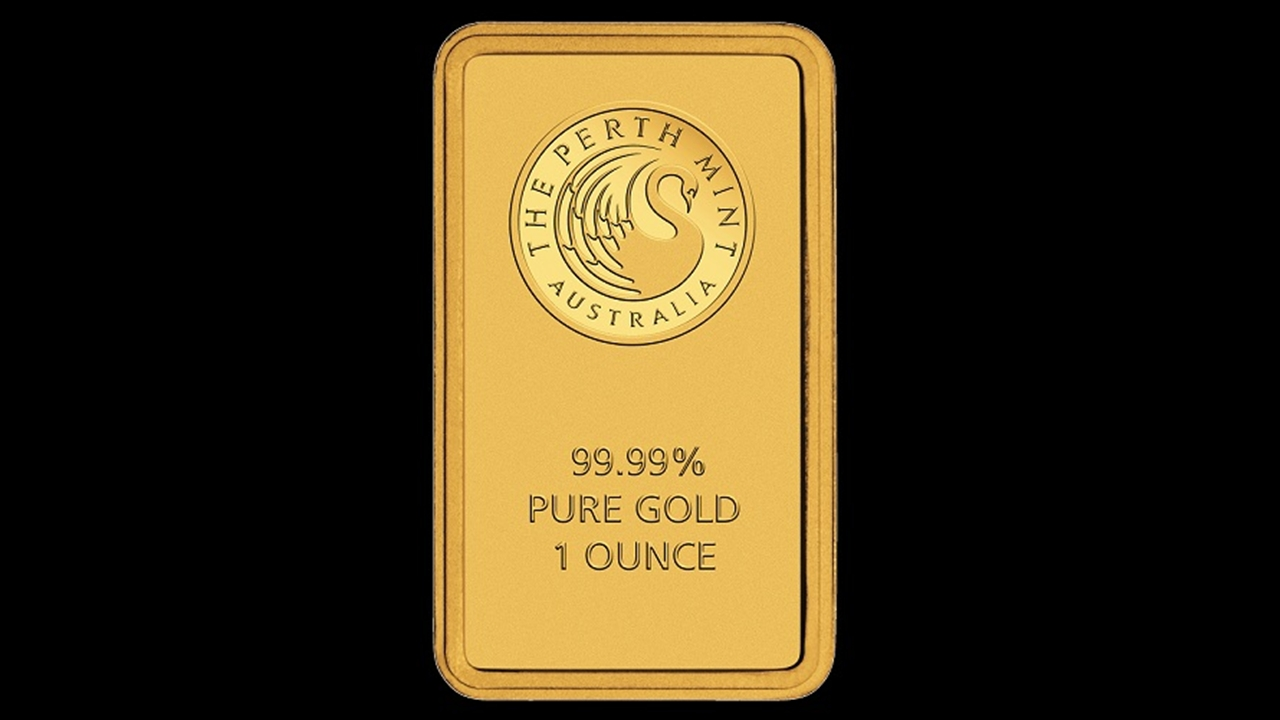 Bullion List Gold Perth Mint 1oz Perth Mint Gold Bar
