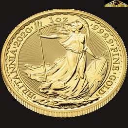 1oz Royal Mint Britannia Gold Coin