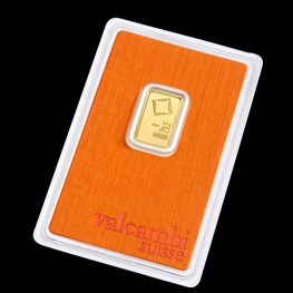 2.5g Valcambi Minted Gold Bar