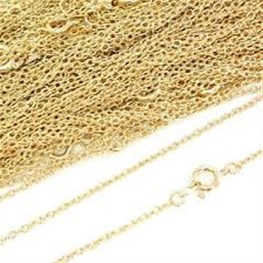 40cm 22 Carats Yellow Gold Chain (16inches)