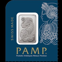 1g PAMP Platinum 'Fortuna' MultiGram in stock