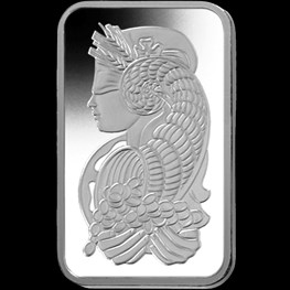 1oz PAMP Platinum Minted Bar