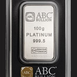 100g ABC Platinum Minted Tablet