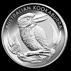 1oz Silver Kookaburra 2012 Dragon Privy