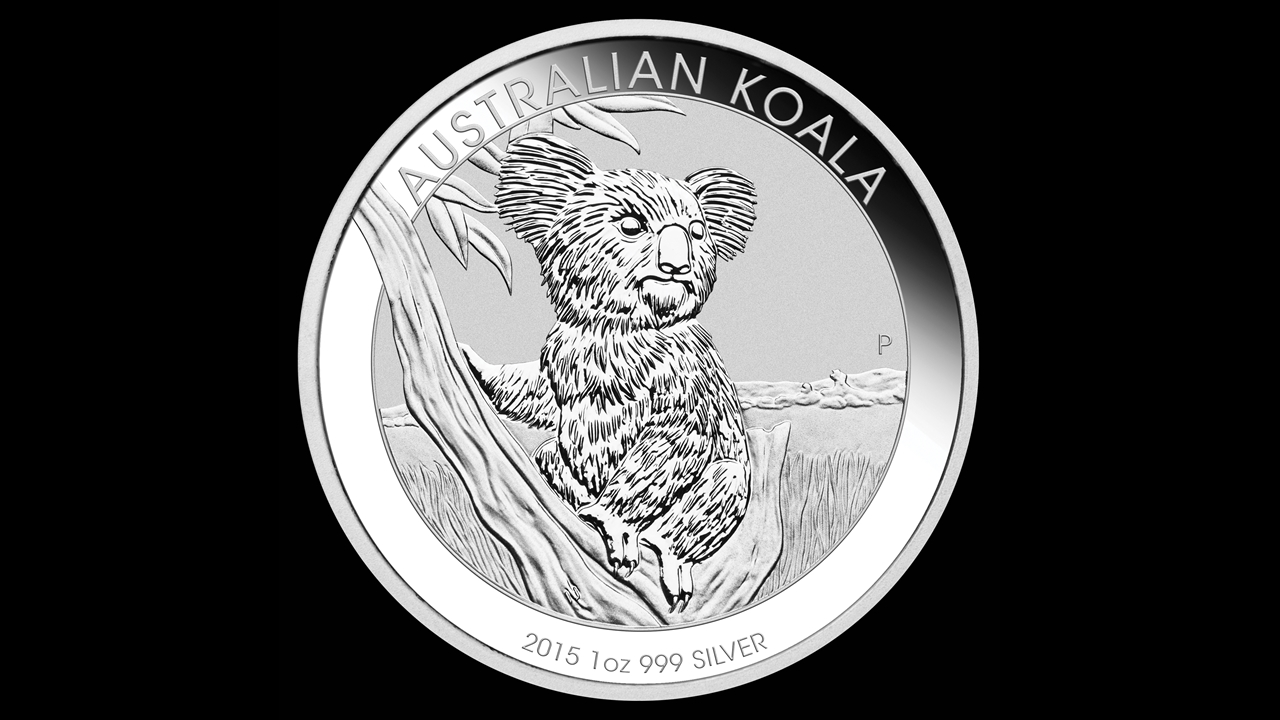 Bullion List Silver Perth Mint 1oz Silver Koala 2015