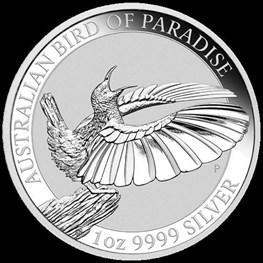 1oz Silver Bird of Paradise Coin 2018