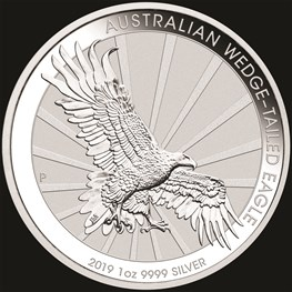 1oz Perth Mint Silver Wedge-Tailed Eagle 2019