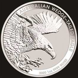 1oz Perth Mint Silver Wedge-Tailed Eagle 2020
